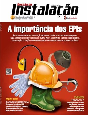 Reymaster fala sobre Segurança em Altura em matéria de capa da Revista da Instalação