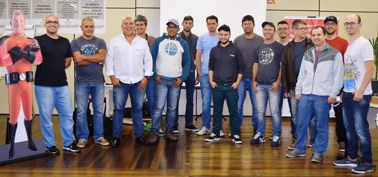 Curso realizado em parceria com a Siemens foi sucesso na Reymaster